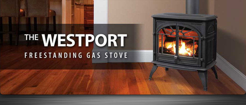 Westport Freestanding Gas Stove