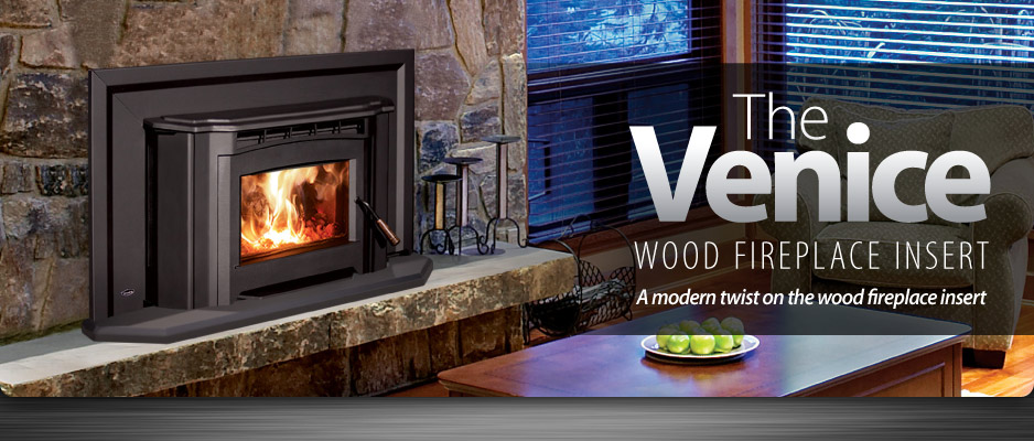 Enviro Venice Wood Fireplace Insert