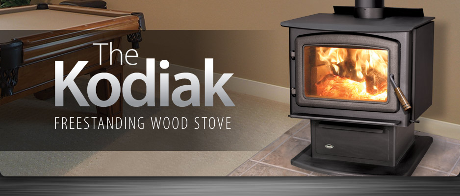 Enviro Kodiak Freestanding Wood Stove