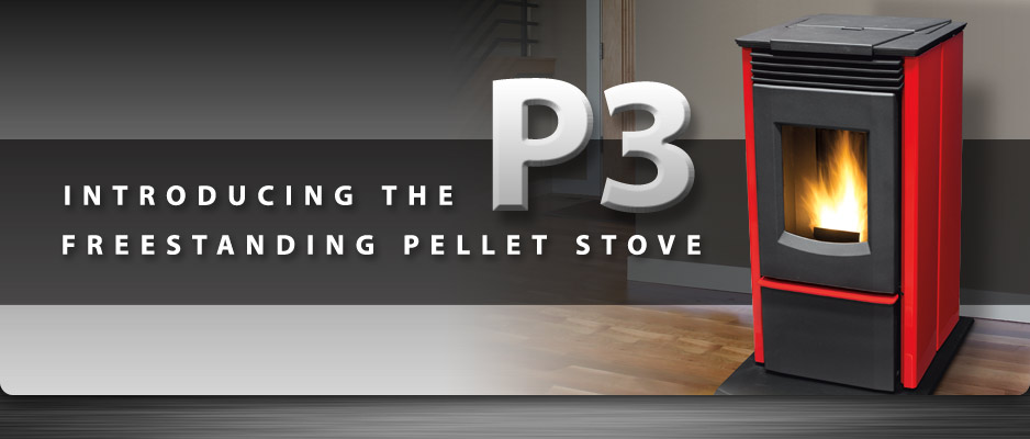 Enviro P3 Freestanding Pellet Stove